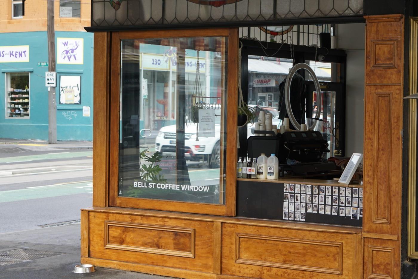 Bell St Coffee Window